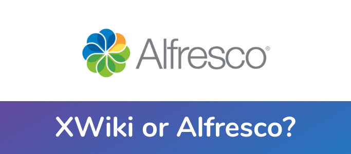 XWiki vs Alfresco